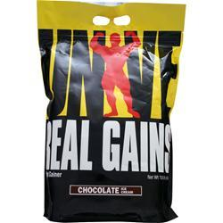 UNIVERSAL NUTRITION Real Gains Chocolate Ice Cream 10.6 lbs