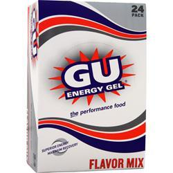 GU Gu Energy Gel Flavor Mix 24 pckts