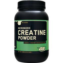 OPTIMUM NUTRITION Micronized Creatine Powder Unflavored 2000 grams