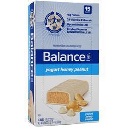 BALANCE BAR Balance Bar Original Yogurt Honey Peanut 15 bars