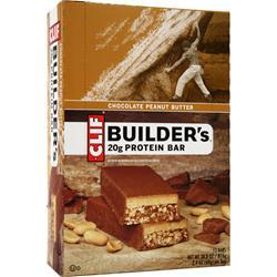 CLIF BAR Builder's Bar Chocolate Peanut Butter 12 bars