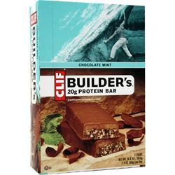 CLIF BAR Builder's Bar Chocolate Mint 12 bars