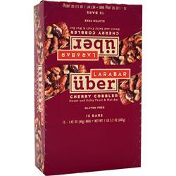 LARA BAR LaraBar Uber - Sweet and Salty Fruit & Nut Bar Cherry Cobbler 15 bars