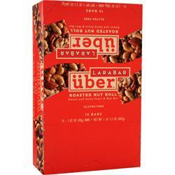 LARA BAR LaraBar Uber - Sweet and Salty Fruit & Nut Bar Roasted Nut Roll 15 bars