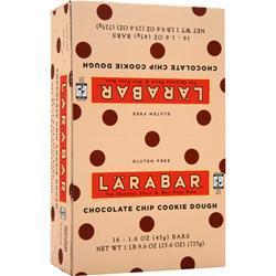 Lara Bar LaraBar Choc Chip Cookie Dough 16 bars