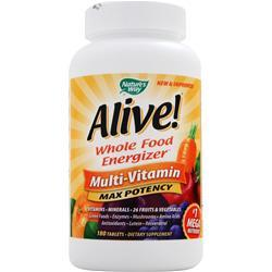 NATURE'S WAY Alive! Multivitamin - Max Potency 180 tabs