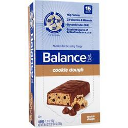 BALANCE BAR Balance Bar Original Cookie Dough 15 bars