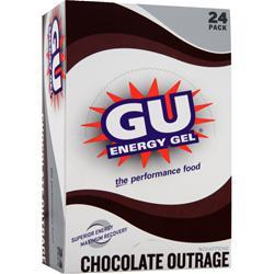 GU Energy Gel Chocolate Outrage 24 pckts