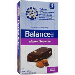 BALANCE BAR Balance Bar Original Almond Brownie 15 bars