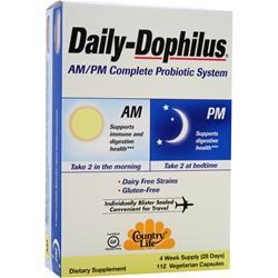 COUNTRY LIFE Daily-Dophilus 112 vcaps