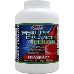 4 EVER FIT Fruit Blast the Isolate Cranrazz 4.4 lbs