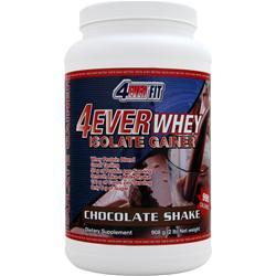 4 EVER FIT 4Ever Whey Isolate Gainer Chocolate Shake 2 lbs