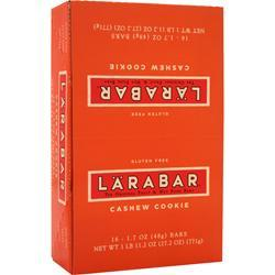 LARA BAR LaraBar Cashew Cookie 16 bars
