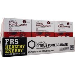 FRS Ready-To-Drink Cans Citrus Pomegranate 24 cans