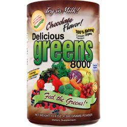 GREENS WORLD Delicious Greens 8000 Chocolate 300 grams