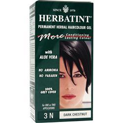 HERBATINT Permanent Herbal Haircolour Gel Dark Chestnut 135 mL