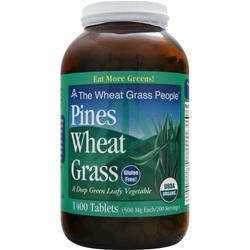 PINES Wheat Grass 1400 tabs