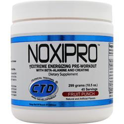 CTD Noxipro Fruit Punch 300 grams