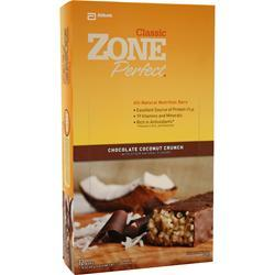 ZONE PERFECT Nutrition Bar Chocolate Coconut Crunch 12 bars