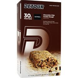 FORWARD FOODS Detour Oatmeal Bar CC Cookie Dough 12 bars