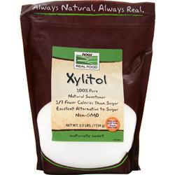 NOW Xylitol 100% Pure 2.5 lbs