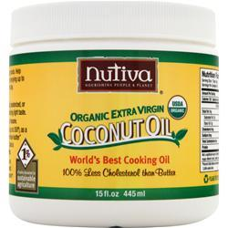 NUTIVA Organic Extra Virgin Coconut Oil Liquid 128 fl.oz