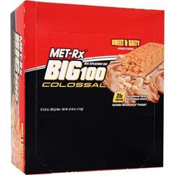 MET-RX Big 100 Colossal Bar Sweet & Salty 12 bars