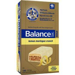 BALANCE BAR Balance Bar Gold Lemon Meringue Crunch 15 bars