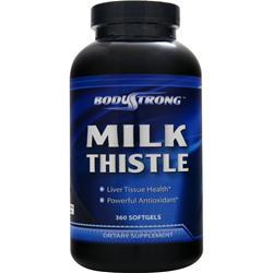 BODYSTRONG Milk Thistle (250mg) 360 sgels