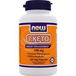 Now 7-Keto (100mg) 120 vcaps