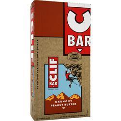 CLIF BAR Clif Bar Crunchy Peanut Butter 12 bars