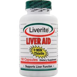 LIVERITE Liver Aid plus Milk Thistle 150 caps