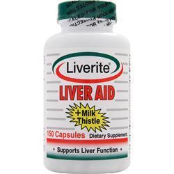 Liverite Liver Aid plus Milk Thistle 150 caps