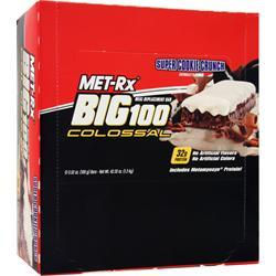 MET-RX Big 100 Colossal Bar Super Cookie Crunch 12 bars