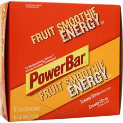 PowerBar Energize Bar Creamy Citrus Smoothie 12 bars
