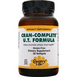 COUNTRY LIFE Cran-Complete U.T. Formula  BEST BY 2/16 50 sgels
