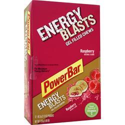 POWERBAR Energy Gel Blasts Raspberry 12 pckts