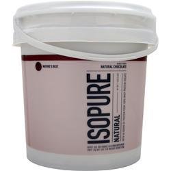 NATURE'S BEST Isopure Natural Natural Chocolate 7.5 lbs