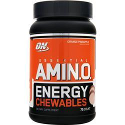 Optimum Nutrition Essential AMIN.O. Energy Chewables Orange Pineapple 75 chews