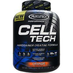 Muscletech Cell Tech Performance Series - Creatine Formula Orange 6 lbs