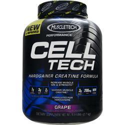 MUSCLETECH Cell Tech Performance Series - Hardgainer Creatine Formula Grape 6 lbs
