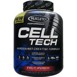 MUSCLETECH Cell Tech Performance Series - Hardgainer Creatine Formula Fruit Punch 6 lbs