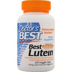 DOCTOR'S BEST Best Lutein 120 vcaps