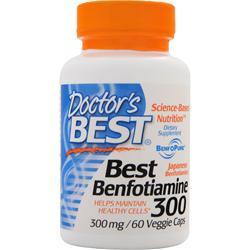 Doctor's Best Best Benfotiamine (300mg) 60 vcaps