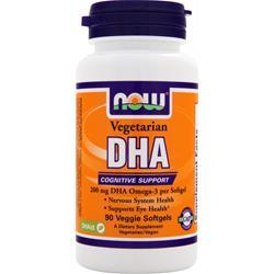 Now DHA - Vegetarian 90 vcaps