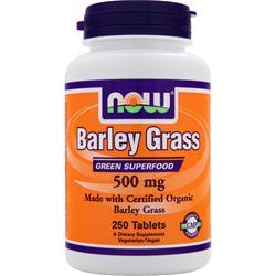 NOW Barley Grass (500mg) 250 tabs