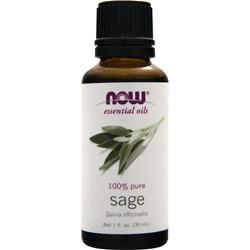 NOW Sage Oil 1 fl.oz