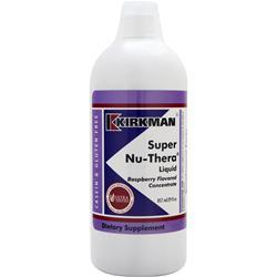Kirkman Super Nu-Thera Liquid Raspberry BEST BY 4/18 29 fl.oz