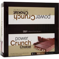 POWER CRUNCH Choklat Crunch Bar Milk Chocolate 12 bars