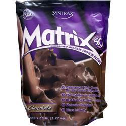 SYNTRAX Matrix 5.0 - Sustained Release Protein Milk Chocolate 5 lbs
